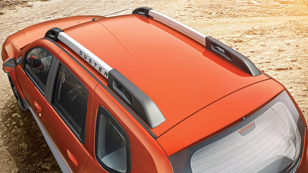 New duster roof rails