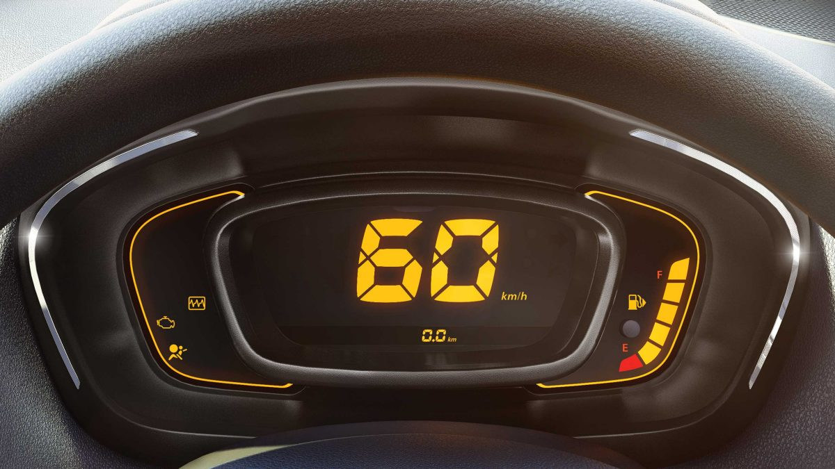 Kwid Digital instrument cluster