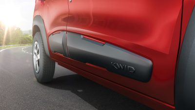 Kwid body side cladding
