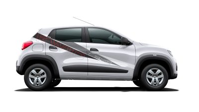 Kwid rally cross body graphics