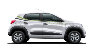 Kwid trajectory body graphics