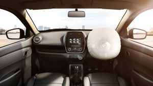 New kwid front dashboard shot airbag